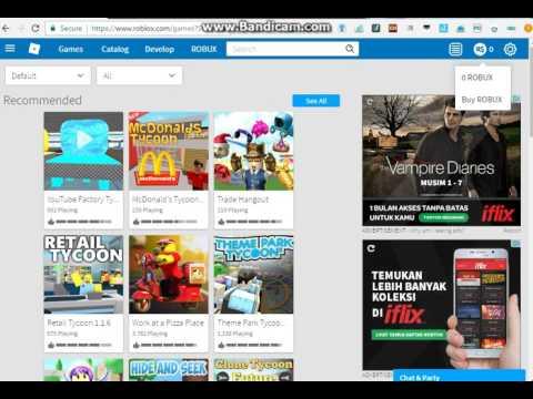 Video Cara Mendapatkan Robux free | Roblox
