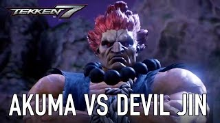 Video Akuma vs Devil Jin