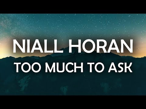 Niall Horan - Too Much to Ask (Lyrics / Lyric Video)
