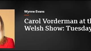 Eve Myles Chats With Carol Vorderman At The Royal Welsh Show  Keeping Faith Series 2 On BBC Radio Wa