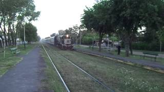 preview picture of video '9084 de Ferrobaires pasando por La Reja (25-01-2013)'
