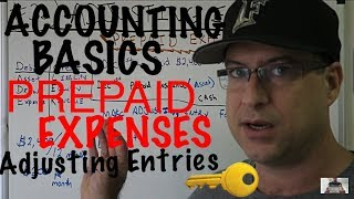 Accounting for Beginners #32 / Adjusting Entries / Journal Entries / Prepaid Expense