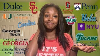 COLLEGE DECISION REACTIONS 2019 (UPENN, STANFORD, USC, DUKE & MORE)