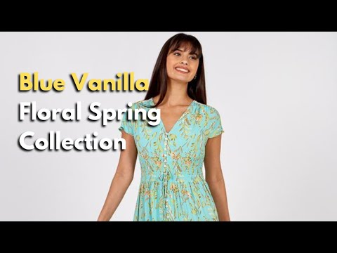 Floral Print Trends by Blue Vanilla