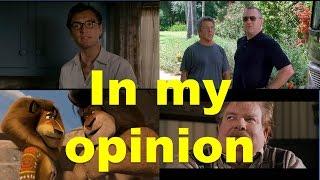 In my opinion (примеры из фильмов и сериалов) / Фразы на английском языке