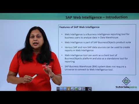 SAP Webi - Introduction - YouTube