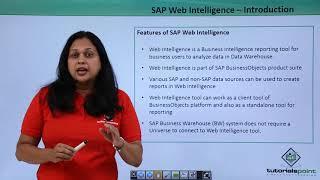 SAP Webi - Introduction