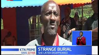 STRANGE: Limuru woman buries late husband at night