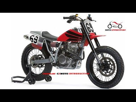NEW HONDA XR650L FLAT TRACKER   New Honda XR650L Custom by Analog Motorcycles