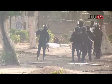 Vidéo: Ça à chauffer à l'université Cheikh Anta Diop