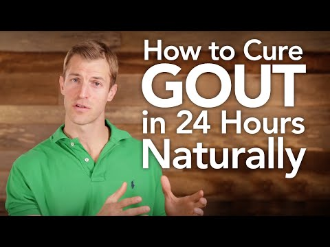 Video How to Cure Gout in 24 hours Naturally