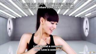 Rainbow - A [Hangul + Romanization + Eng Sub] MV