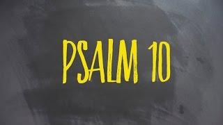PLASTER MIODU. Psalm 10: Plecy Boga