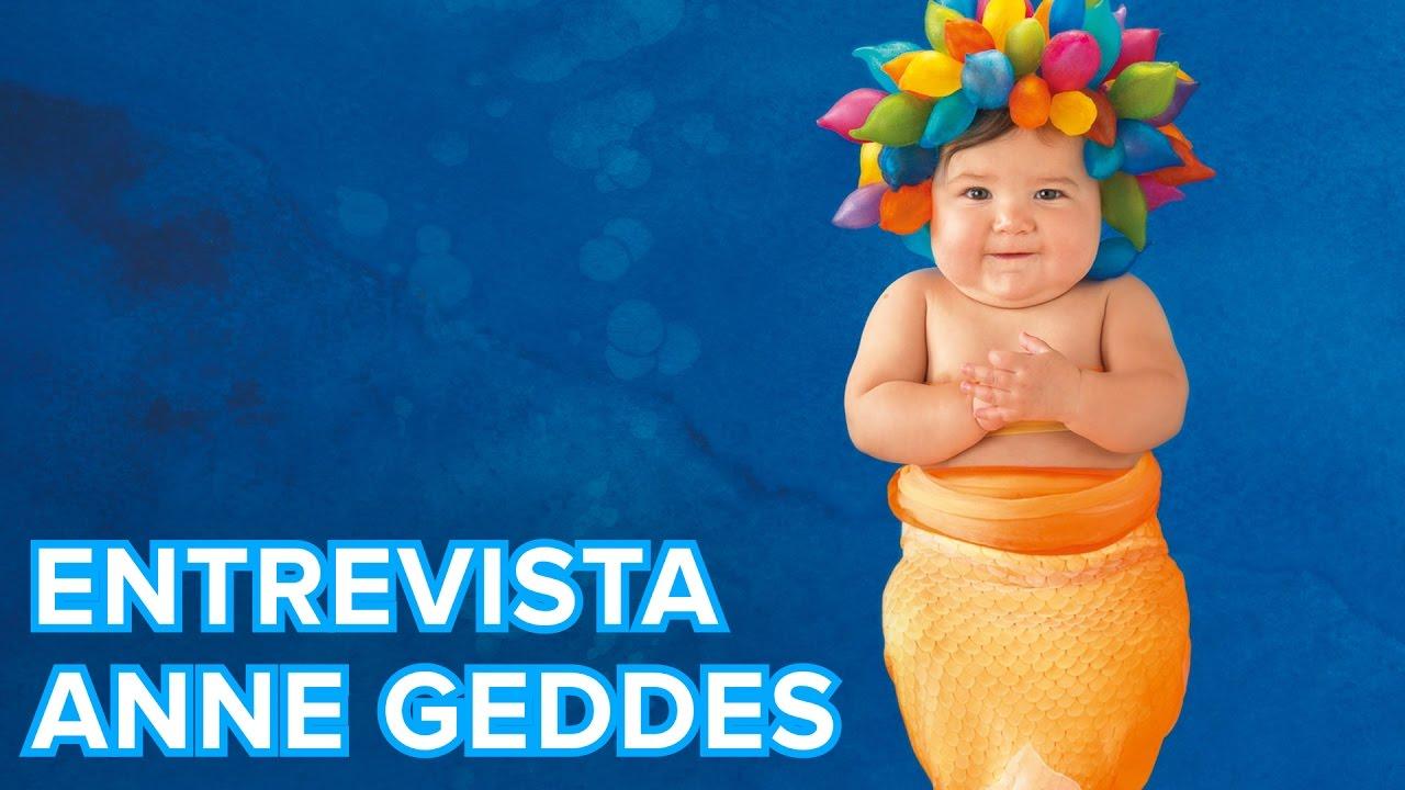 Consejos de Anne Geddes para hacer buenas fotografías a los bebés