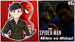Miles vs Rhino! | Spider-Man! #6