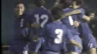 1989年高校サッカー予選 清水東vs東海大一 オーバーヘッド