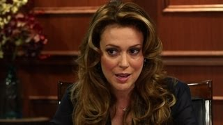 "Alyssa Milano On ""Charmed"" And Other Hits and Misses -Larry King Now"
