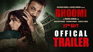 Bhoomi Official Trailer | Sanjay Dutt | Aditi Rao Hydari | Movie Releasing 22 September