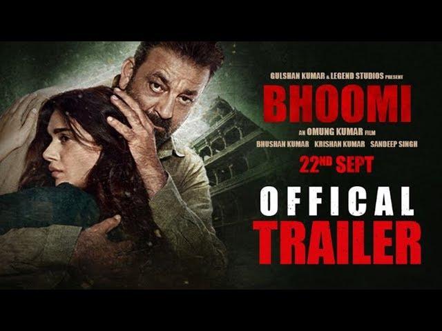 Bhoomi Theatrical Trailer HD | Sanjay Dutt | Aditi Rao Hydari