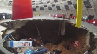 Top Stories Of 2014: Sinkhole Opens Up At Corvette Museum In Bowling Green