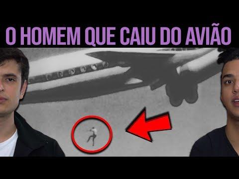 O HOMEM QUE CAIU DO AVIÃO EM PLENO VOO BRASILEIRO !!