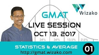GMAT Statistics & Average Live Session - Part I