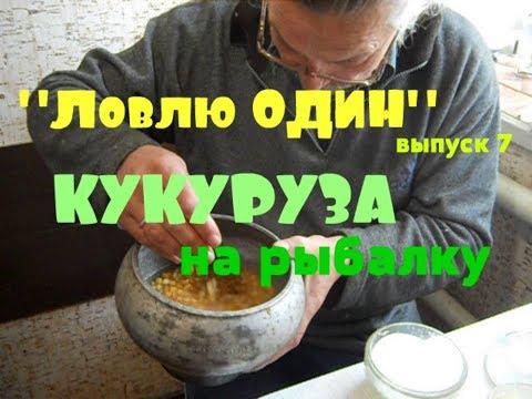 Кукуруза на рыбалку // Рецепт приготовления