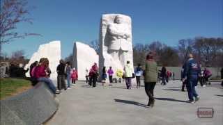Martin Luther King, Jr. Memorial 1-minute Tour ~ Washington DC