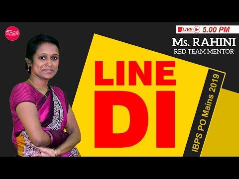 LINE Data Interpretation | HARD | IBPS PO Mains | Ms.Rahini