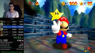 New Sm64 120 star WR in 1hr 39m 20s