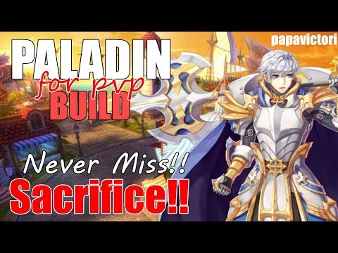 Paladin Skills Spear Mastery VS Retribution - смотреть онлайн на Hah