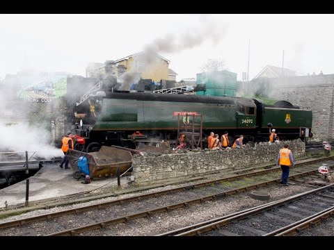 The Swanage Strictly Bulleid Gala with Five Working Light Pa…