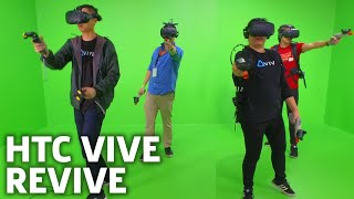 HTC Vive Pro Raises the Bar for Virtual Reality | CES 2018 - Video Youtube