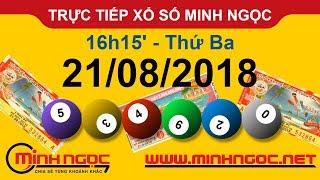 Xổ số Minh Ngọc™ Thứ Ba 21/08/2018 - Kênh chính thức từ Minhngoc.net.vn