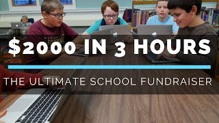 How To Raise More Than $2000 For Your School In Three Hours | School Fundraiser 💰 ✏️ 📗