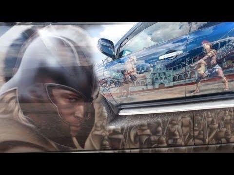 Любителям АЭРОГРАФИИ автомобиль грузовик фура (фото) Красиво практично креативно (HD)