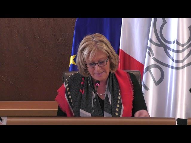 Débat d'Orientation Budgétaire - Le discours de Nadège Lefebvre