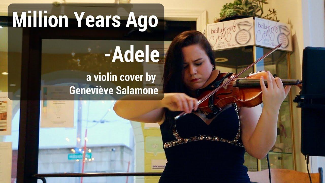 Hire Geneviève Salamone - Violinist in Des Moines, Iowa
