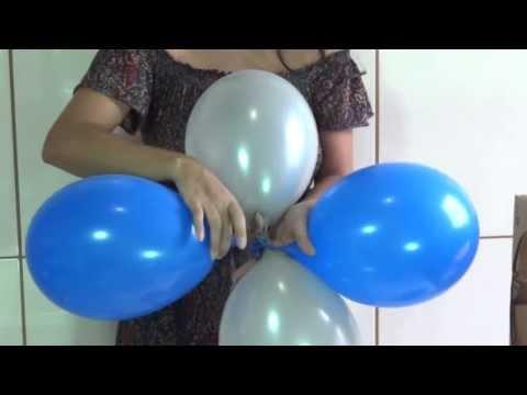 Dica para as mamães que querem fazer a festa do seu filho - Como fazer arco de balões