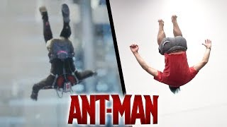 Stunts From Ant Man In Real Life (Parkour, Tricking, Marvel)