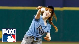 Carly Rae Jepsen Throws Terrible First Pitch