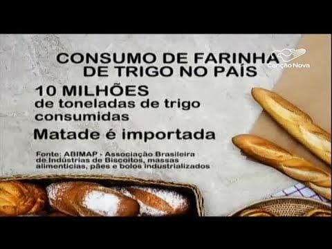 Trigo importado e dólar pressionam o preço do pão francês
