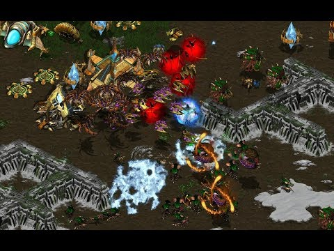 P - OK BUT THIS GAME THOUGH - StarCraft  - Brood War REMASTERED