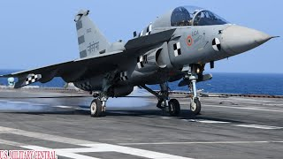 Good News: India's Tejas Fighter Jet Just Landed on an Aircraft Carrier for the First Time