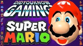 Obscure Mario Facts - Did You Know Gaming? Feat. Greg