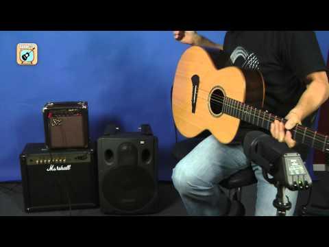 Kann ich einen E-Gitarrenamp für eine Akustikgitarre benutzen?  • 100 Tipps zum Gitarre lernen