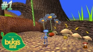 Let's Play A Bug's Life (PS1)   Part 1: Tutorial & Anthill