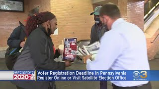 Today Is Last Day To Register To Vote In Pennsylvania