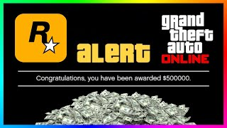 How To Get Your FREE $500,000 In Less Than 5 Minutes In GTA 5 Online!