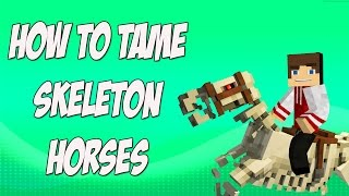 How to Tame Skeleton Horses in Minecraft
